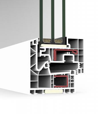 Sistema A 84 Hoja oculta Passivhaus